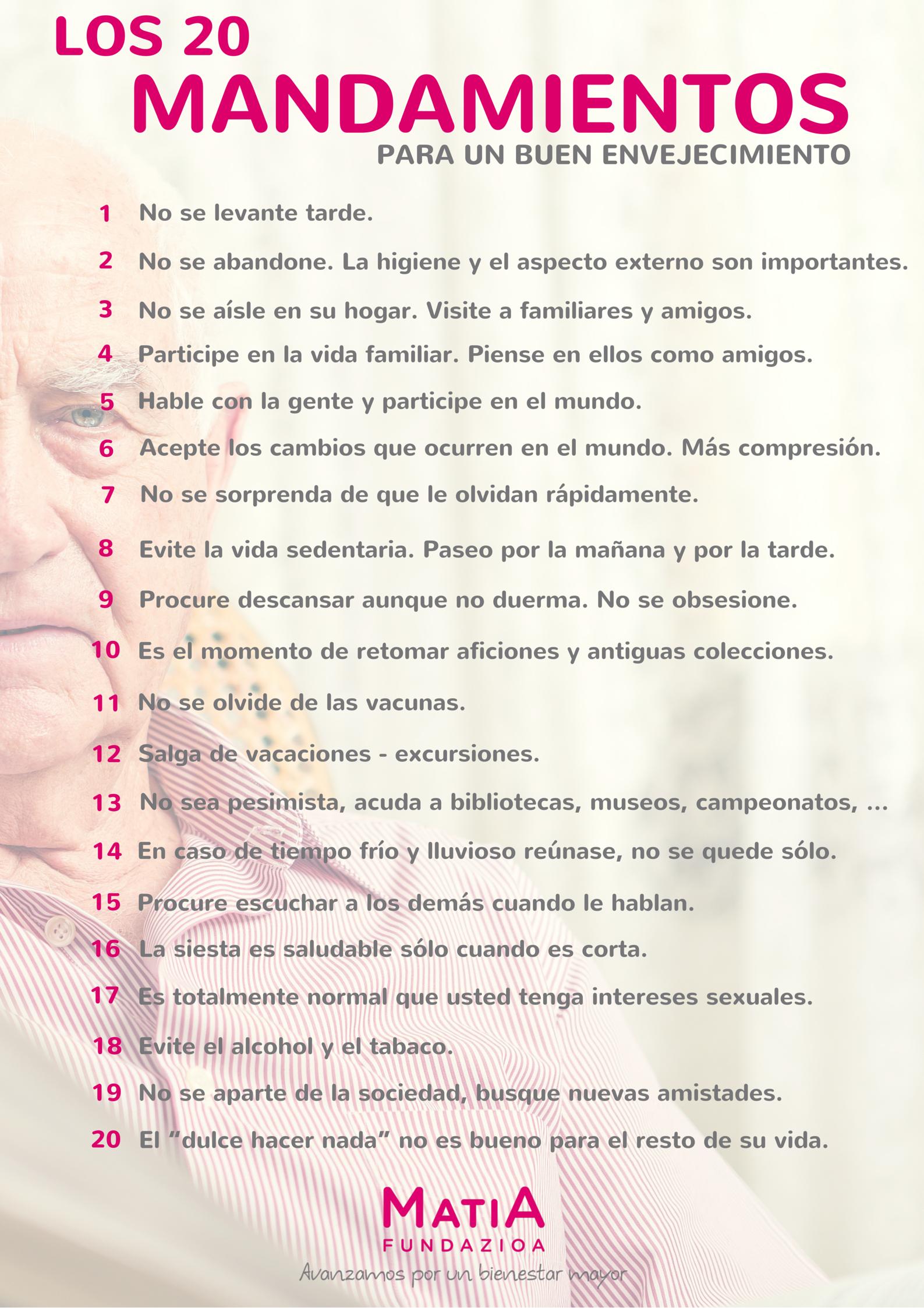 Los 20 Mandamientos [Matia]