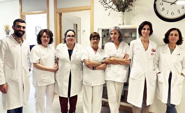 Equipo humano del Servicio de Farmacia en Matia Fundazioa