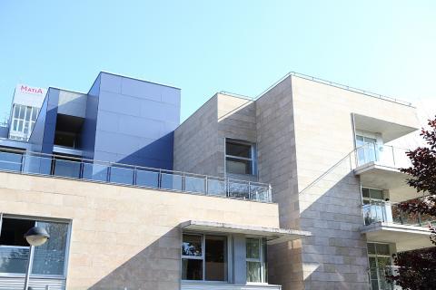 Centro Iza, fachada
