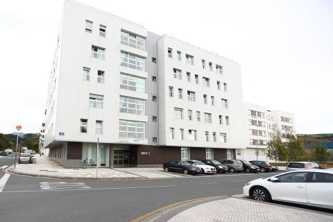 Centro Otezuri, fachada