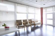 Hospital Ricardo Bermingham, sala de espera