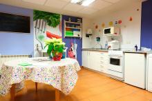Centro Iza, cocina