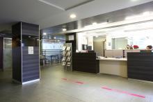 Hospital Ricardo Bermingham, interior