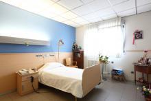 Unidad socio sanitaria, habitación