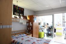 Centro Iza, habitación