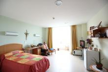 Centro Petra Lekuona, habitaciones
