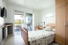 Centro Julián Rezola, habitación