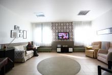 Centro Julián Rezola, sala de estar